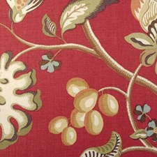 Azalea Floral Large Drapery and Upholstery Fabric by Duralee