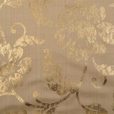 Sungold Floral Medium Drapery and Upholstery Fabric by Duralee
