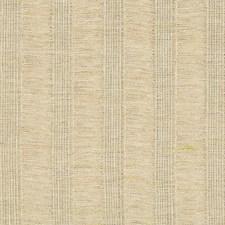 Beige/Light Green Stripes Drapery and Upholstery Fabric by Kravet
