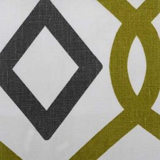 Avocado Diamond Drapery and Upholstery Fabric by Duralee