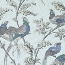 Aegean Birds Drapery and Upholstery Fabric by Duralee
