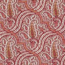 Bubblegum Paisley Drapery and Upholstery Fabric by Duralee