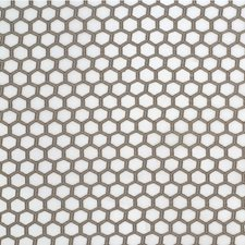 White/Bronze/Gold Geometric Drapery and Upholstery Fabric by Kravet
