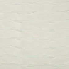 Ivory Pleated Drapery and Upholstery Fabric by Kravet