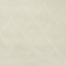 Ivory Botanical Drapery and Upholstery Fabric by Kravet