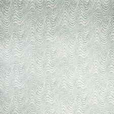 Celadon Flamestitch Drapery and Upholstery Fabric by Fabricut
