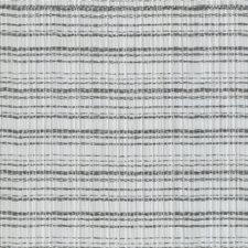 White/Charcoal Plaid Drapery and Upholstery Fabric by Kravet