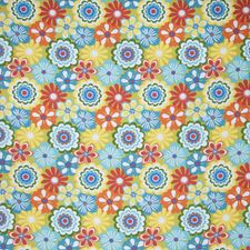 Tropical Floral Drapery and Upholstery Fabric by Trend