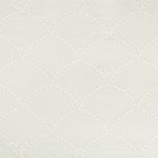 Ivory Embroidery Drapery and Upholstery Fabric by Kravet