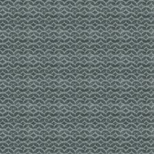 Turquoise Small Scale Woven Drapery and Upholstery Fabric by Fabricut