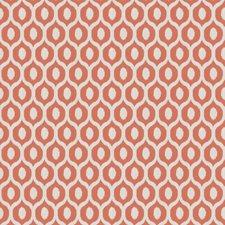 Salmon Jacquard Pattern Drapery and Upholstery Fabric by Fabricut