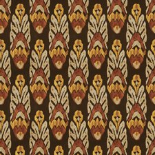 Paprika Global Drapery and Upholstery Fabric by Vervain