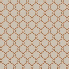 Copper Embroidery Drapery and Upholstery Fabric by Fabricut