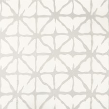 White/Grey Geometric Drapery and Upholstery Fabric by Kravet