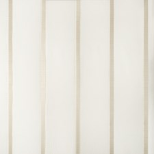 White/Ivory Stripes Drapery and Upholstery Fabric by Kravet