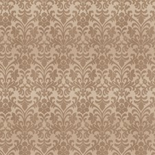 Taupe Damask Drapery and Upholstery Fabric by Trend