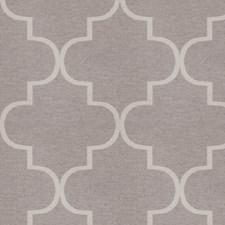 Heather Grey Lattice Drapery and Upholstery Fabric by S. Harris