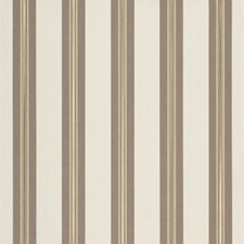 Taupe Tailored Bar Stripe Drapery and Upholstery Fabric by Sunbrella