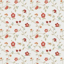 Garden Embroidery Drapery and Upholstery Fabric by Fabricut