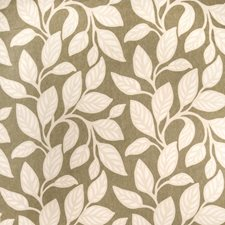 Moss Leaves Drapery and Upholstery Fabric by Vervain