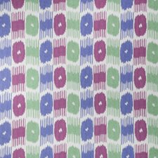 Carnival Flamestitch Drapery and Upholstery Fabric by Vervain