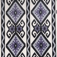 Amethyst Flamestitch Drapery and Upholstery Fabric by Vervain