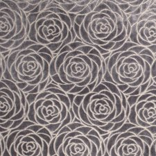 Labradorite Floral Drapery and Upholstery Fabric by Vervain