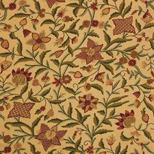 Red/Green Drapery and Upholstery Fabric by Schumacher