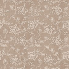 Linen Embroidery Drapery and Upholstery Fabric by Trend