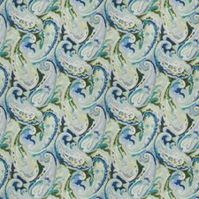 Caribe Paisley Drapery and Upholstery Fabric by Vervain
