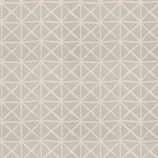 Aqua Geometric Drapery and Upholstery Fabric by Fabricut