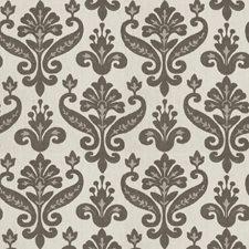 Grey Print Pattern Drapery and Upholstery Fabric by Fabricut