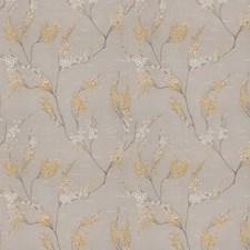 Lemon Floral Drapery and Upholstery Fabric by Fabricut