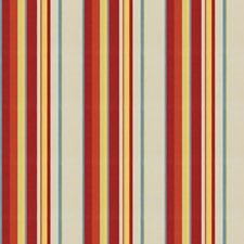 Cardinal Stripes Drapery and Upholstery Fabric by Fabricut