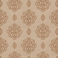 Umber Print Pattern Drapery and Upholstery Fabric by Trend
