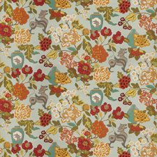 Exotic Sky Animal Drapery and Upholstery Fabric by Trend