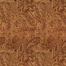 Chutney Paisley Drapery and Upholstery Fabric by Trend