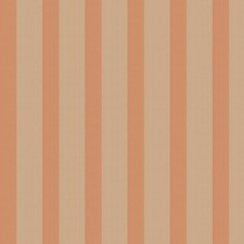 Rose Coral Stripes Drapery and Upholstery Fabric by Stroheim