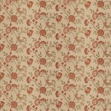 Rose Coral Animal Drapery and Upholstery Fabric by Stroheim