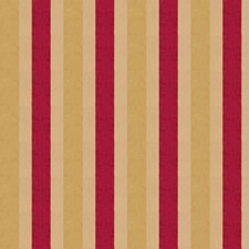 Scarlet Stripes Drapery and Upholstery Fabric by Fabricut