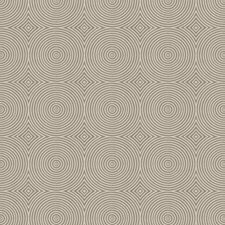 Silver Haze Geometric Drapery and Upholstery Fabric by Trend