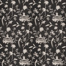 Black Global Drapery and Upholstery Fabric by Trend