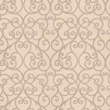 Soapstone Scrollwork Drapery and Upholstery Fabric by Trend