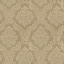 Thyme Damask Drapery and Upholstery Fabric by Trend
