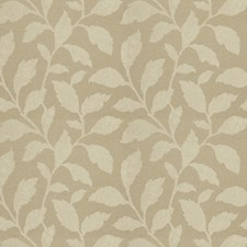 Sage Leaves Drapery and Upholstery Fabric by Trend