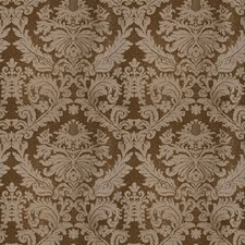Ebony Damask Drapery and Upholstery Fabric by Vervain