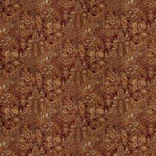 Ruby Jacquard Pattern Drapery and Upholstery Fabric by Fabricut