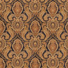 Lapis Jacobean Drapery and Upholstery Fabric by Fabricut