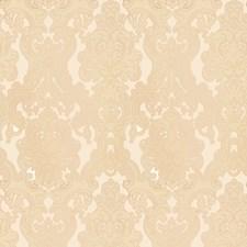Ecru Damask Drapery and Upholstery Fabric by Fabricut