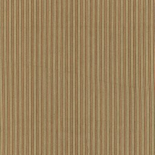 Flax/Mocha/Red Drapery and Upholstery Fabric by Schumacher